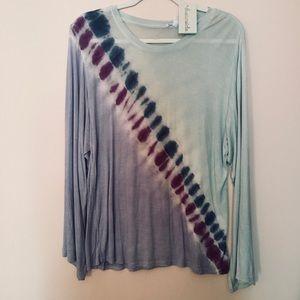 Dreamsicle long sleeves top